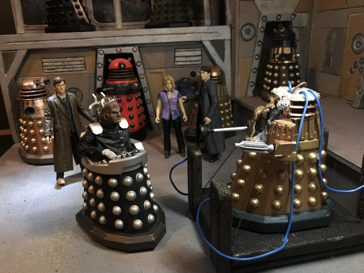The Lair of the Daleks