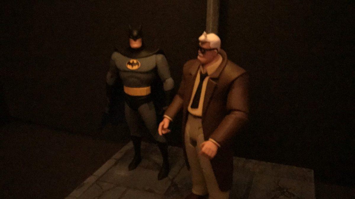 Streetlight diorama